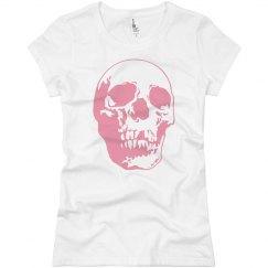 Giant Pink Skull