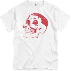 Distressed Dali Skull