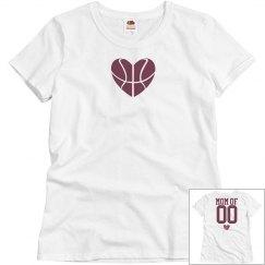 Budget Priced Trendy Basketball Mom Shirts