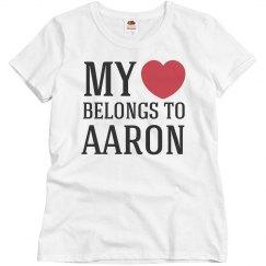 My heart belongs to Aaron