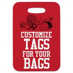 Customize Sports Tags