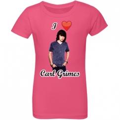 Little Girl's I Heart Carl Grimes