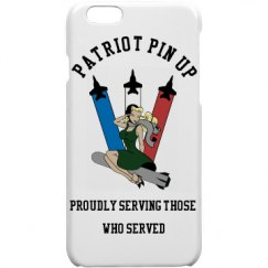 Patriot Pin Up Phone Case