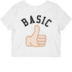 Basic Bitch Emoji Tee