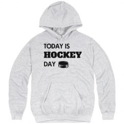 Today is hockey day