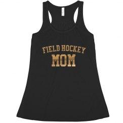 Field Hockey Gold Foil