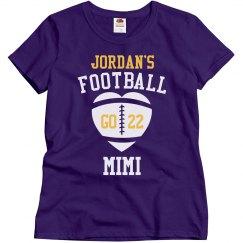 Football Mimi Rhinestones