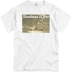 Kindness is free cheetah