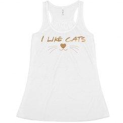 I Like Cats Tank