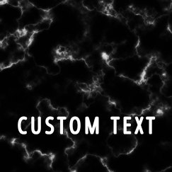 Marble Custom Text All Over Print