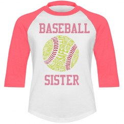 Baseball Sister Tee