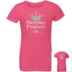Birthday Princess youth Tee
