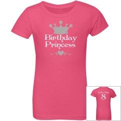 Birthday Princess youth Tee
