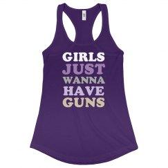 GUNS purple