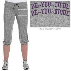 Be YOU cropped sweat pants