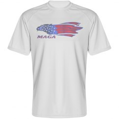 Eagle - Unisex Sport B-dry Performance Tee Shirt