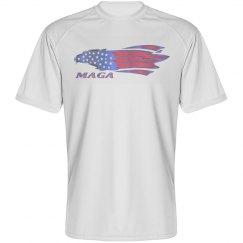 Eagle - Unisex Sport B-dry Performance Tee Shirt
