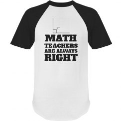 Math Is Right