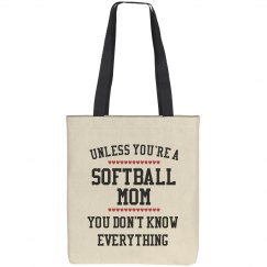 Softball mom knows all