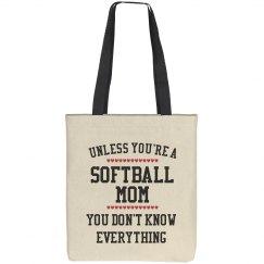 Softball mom knows all