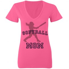 Neon Mom Softball