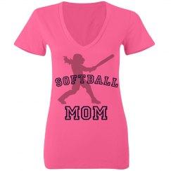 Neon Mom Softball
