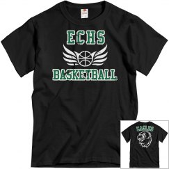 ECHS BASKETBALL - Black Distressed