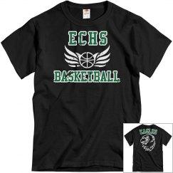 ECHS BASKETBALL - Black Distressed