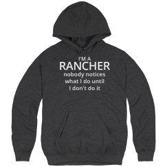 Rancher's hoodie