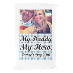 Custom Photo Gift Hand Towel