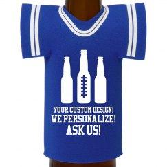 Custom Photo Bottle Koozie Gift!