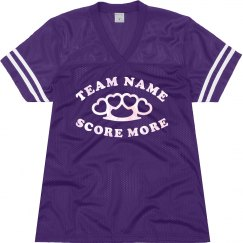 Custom Team Name With Brass Knuckles