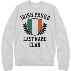 Irish Family Pride Shield St Pat