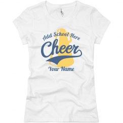 Cheerleader School Colors
