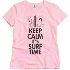 Keep calm it's surf time