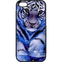iPhone 5/5s Blue Tiger