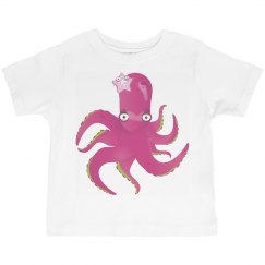 Octopus Pink Tee