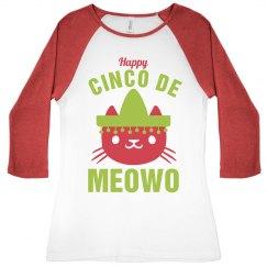 Happy Cinco De Mayo Meowo Cat
