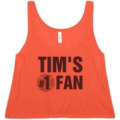 Tim's #1 Baseball Fan