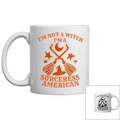 Sorceress American Halloween Coffee Mug