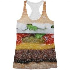 Burger Burnout All-Over Print Tank