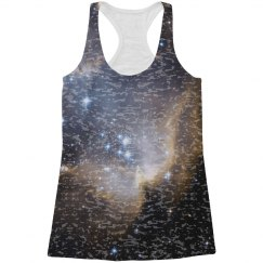 Space Galaxy Burnout All Over Print