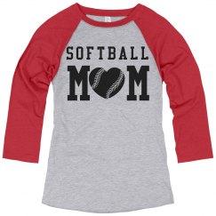 You Design Softball Mom Jerseys