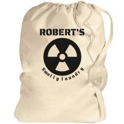 ROBERT. Laundry bag!