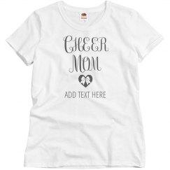 Proud Cheer Mom Tee