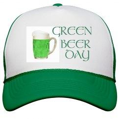 Green Beer Day Peak Cap