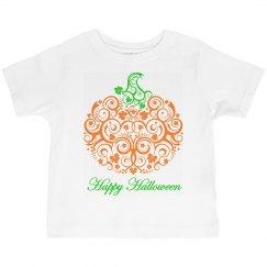 Lace Pumpkin Shirt