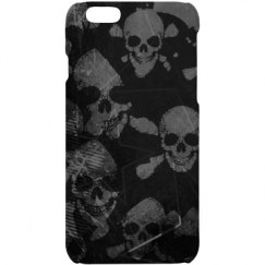 Skull&bone Grunge iPhone 6 Case