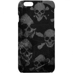 Skull&bone Grunge iPhone 6 Case
