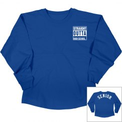 Straight Outta High School- Senior shirt